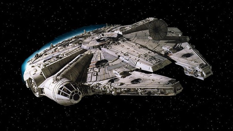 9. Millennium Falcon (Star Wars)