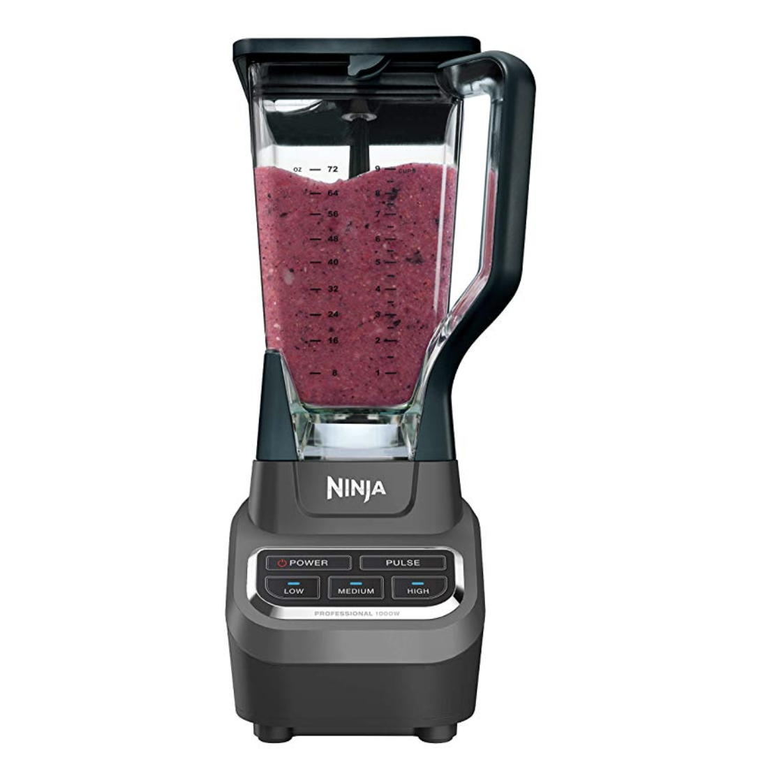 Ninja Professional 72oz Countertop Blender with 1000-Watt Base - $49.99 (Down From $99.99)