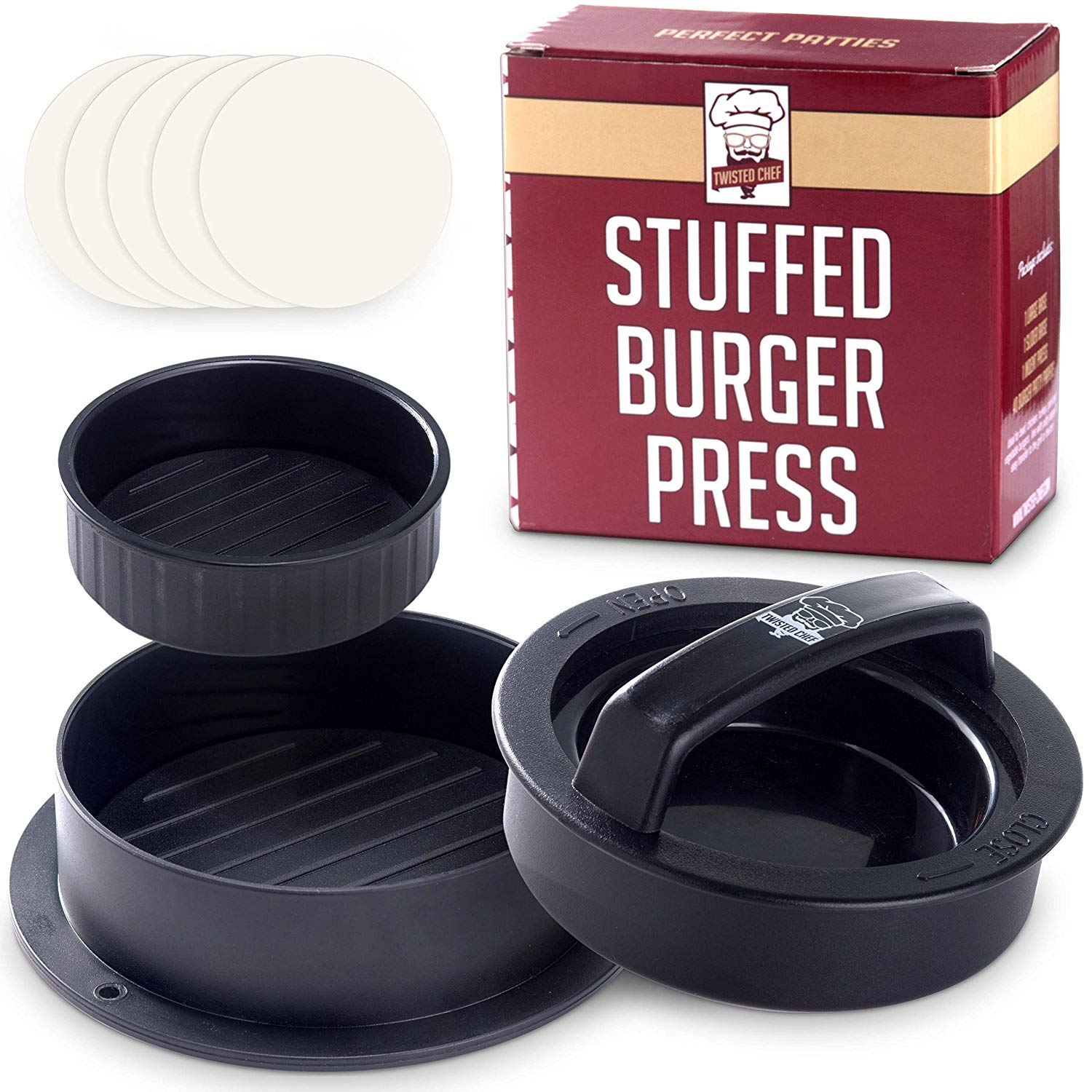 Twisted Chef Burger Press