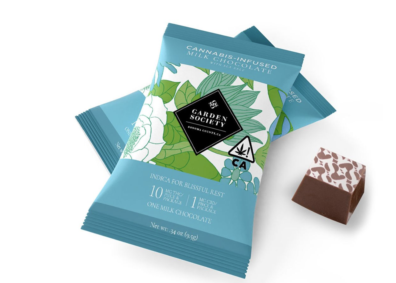 Garden Society's Cannabis Infused Chocolates