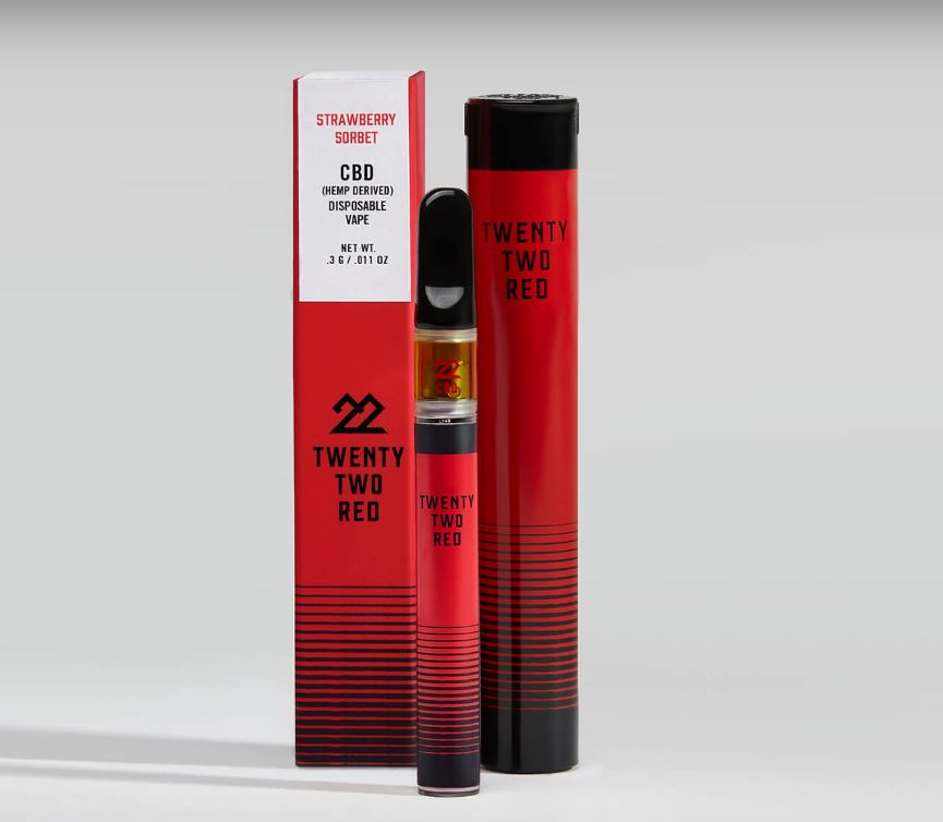 22Red CBD Vape