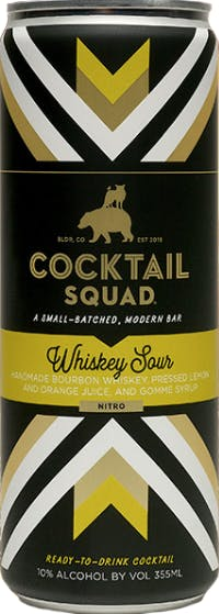 7. Cocktail Squad Whiskey Sour