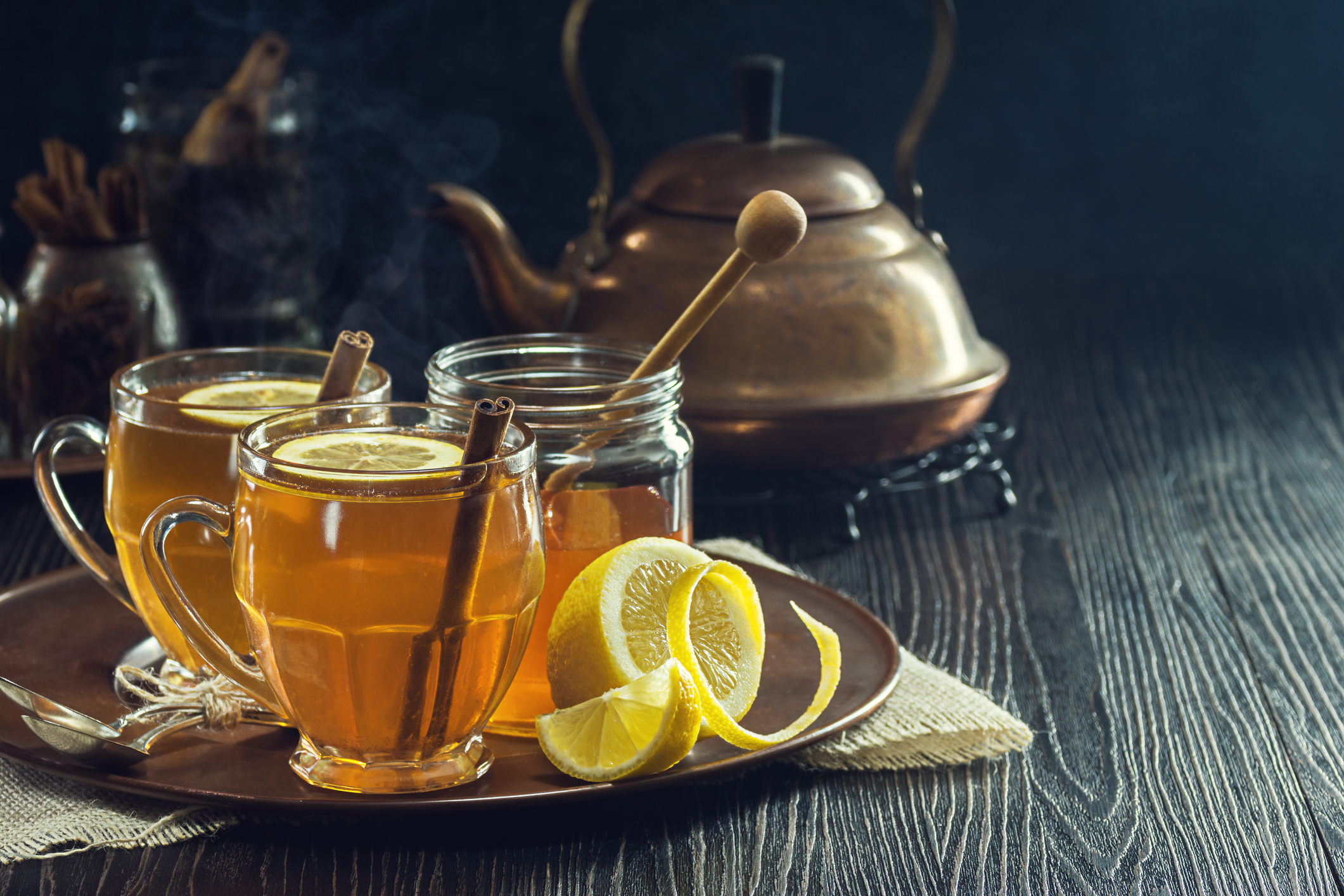 CBD Infused Hot Toddy