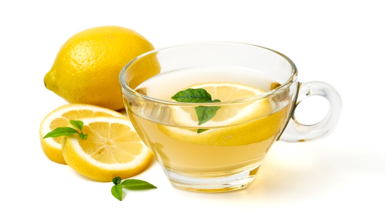 Lemon and Hot Water