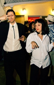 Vincent and Mia From 'Pulp Fiction'