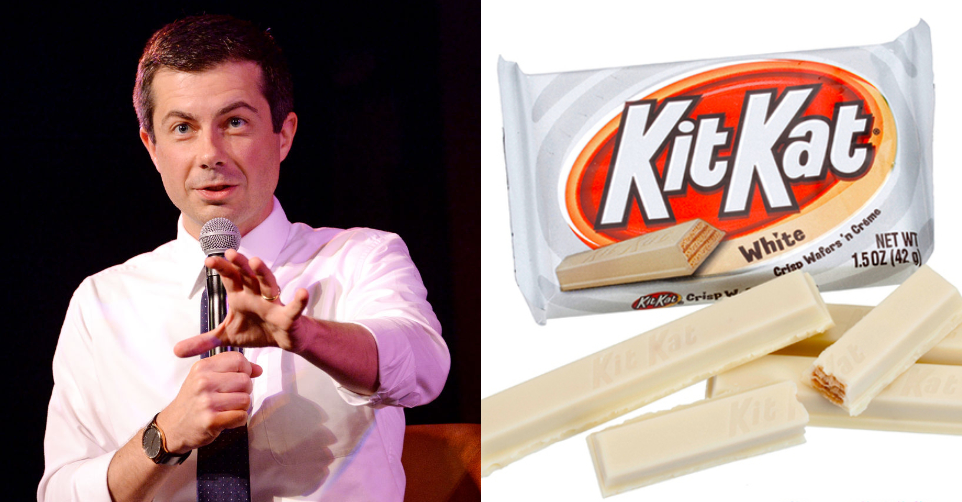 Pete Buttigieg – Kit Kat White Chocolate