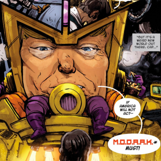 M.O.D.A.A.K. from Marvel Comics