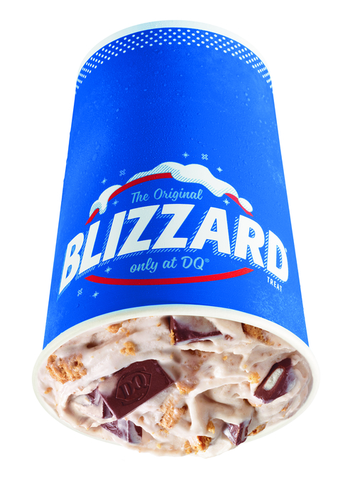 7. S'mores Blizzard