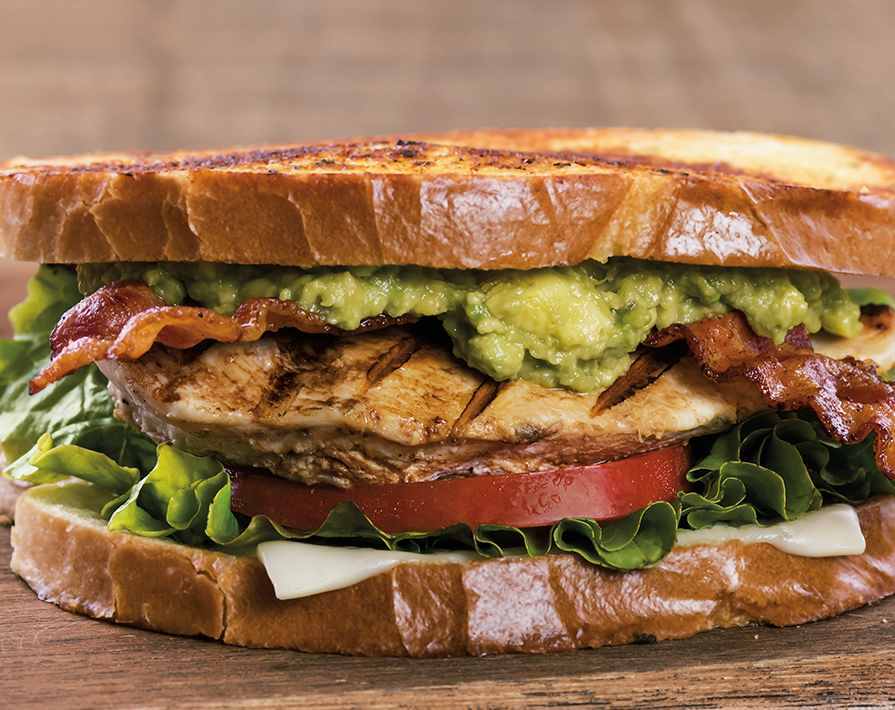 4. Farmer Boys Sourdough Chicken Avocado Sandwich