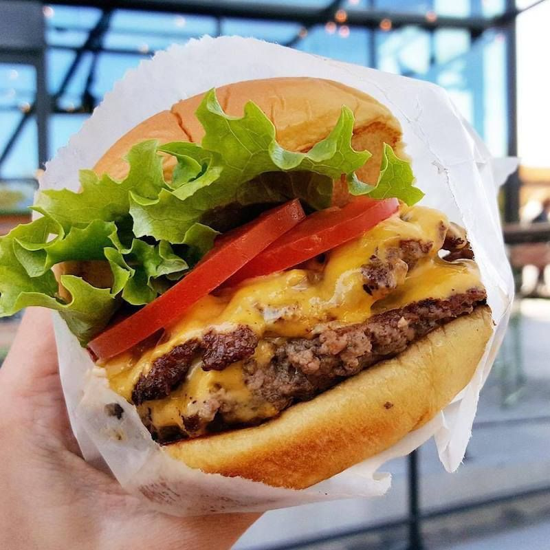 2. Shake Shack Double Shack Burger