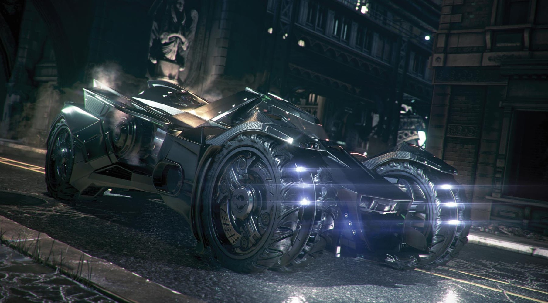 The Batmobile shouldn't be a death machine!