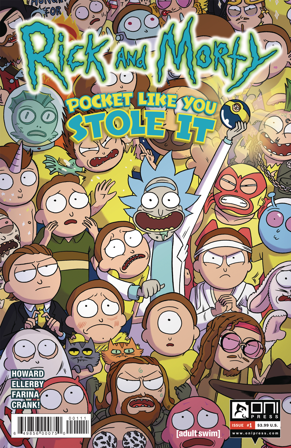 Rick and Morty: Pocket Like You Stole It #1