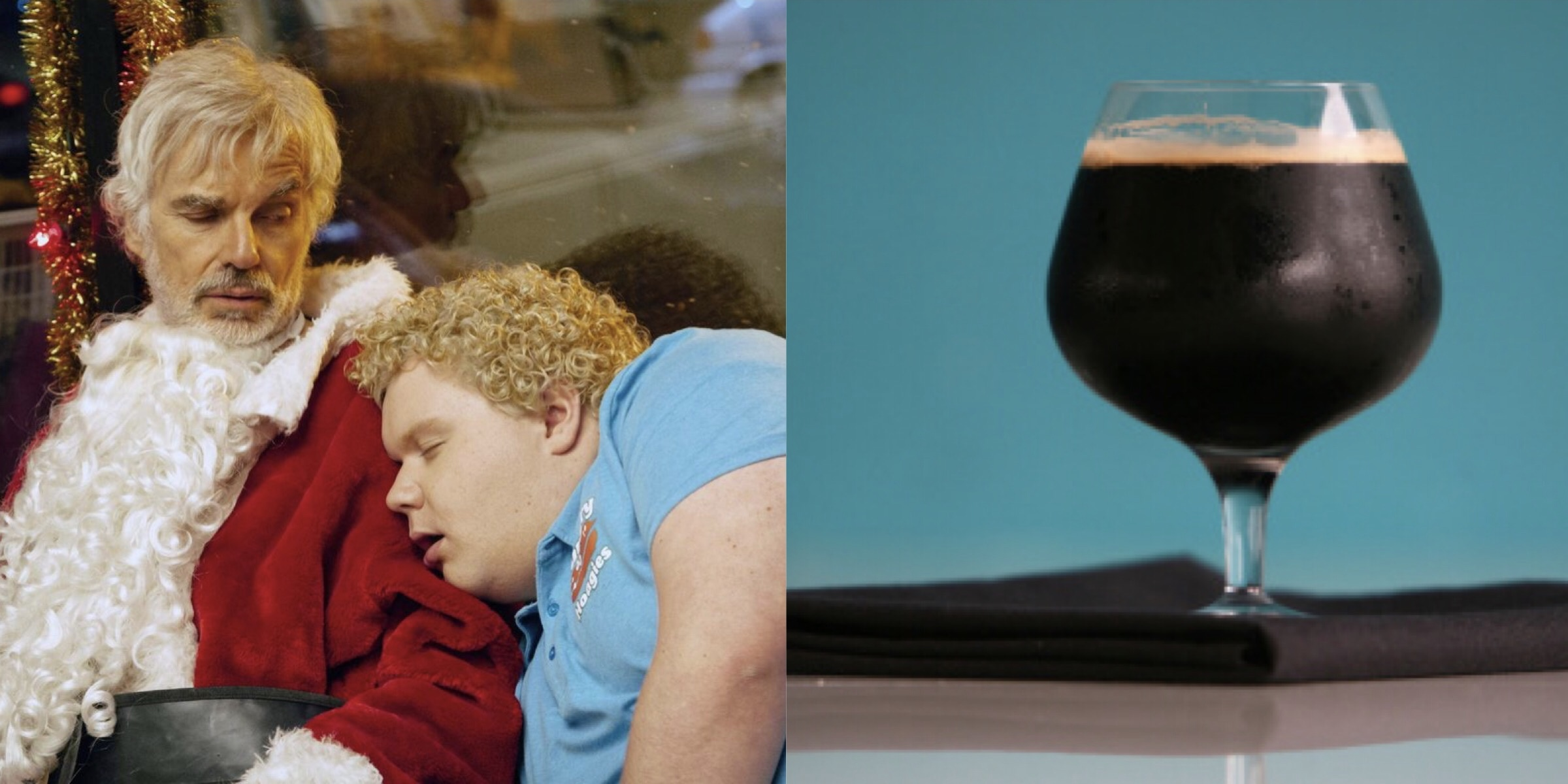 'Bad Santa' and Corsendonk Christmas Ale