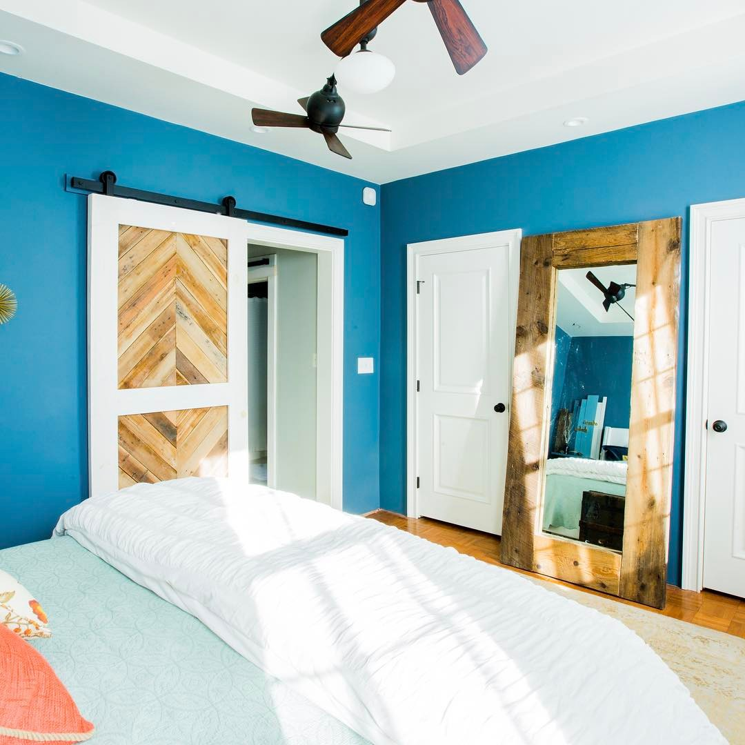 Bedroom Do: Blue