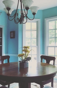 Dining Room Do: Blue