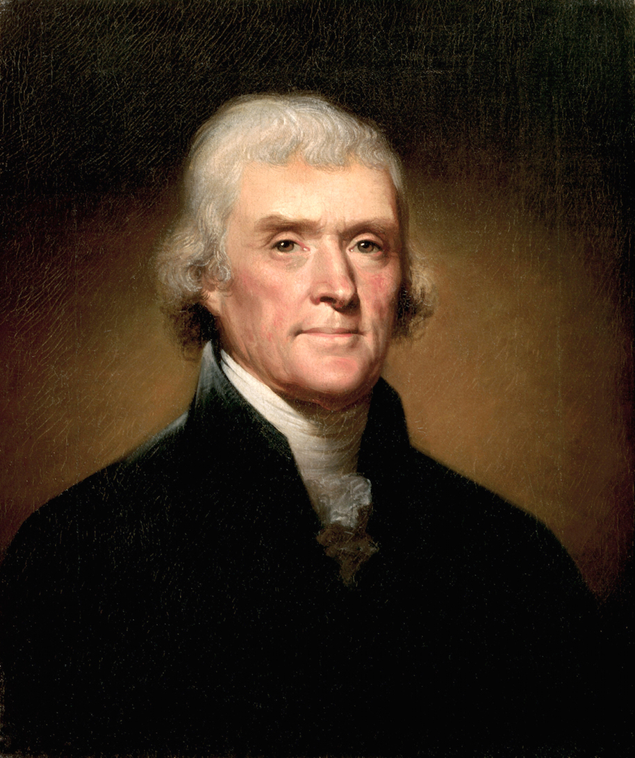 Thomas Jefferson had incomprehensible stage fright