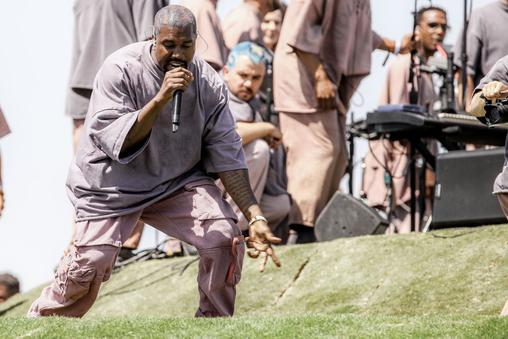 Kanye West Performs Sunday Service