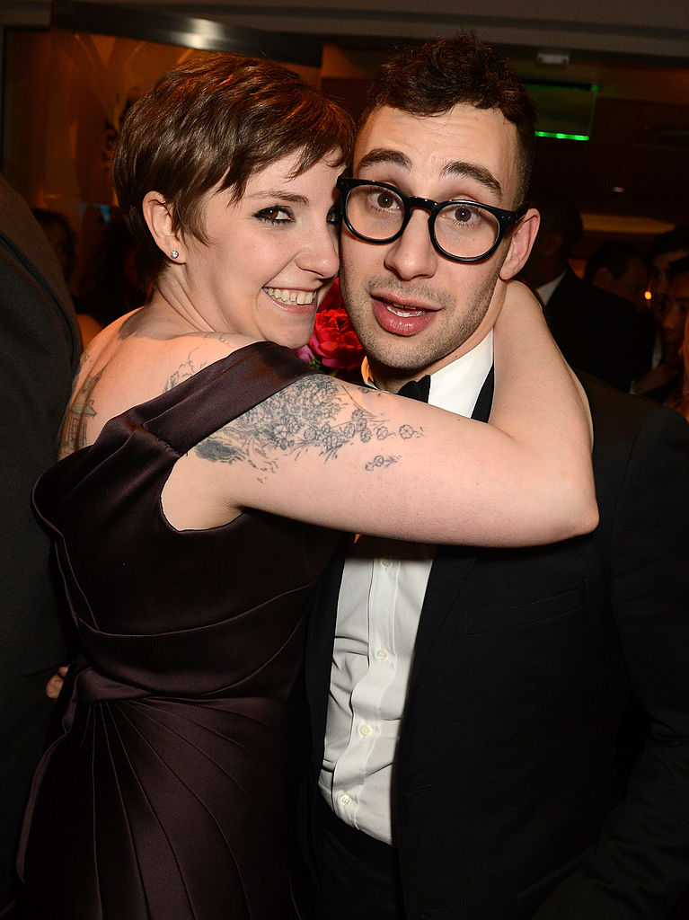 13. Lena Dunham and Jack Antonoff