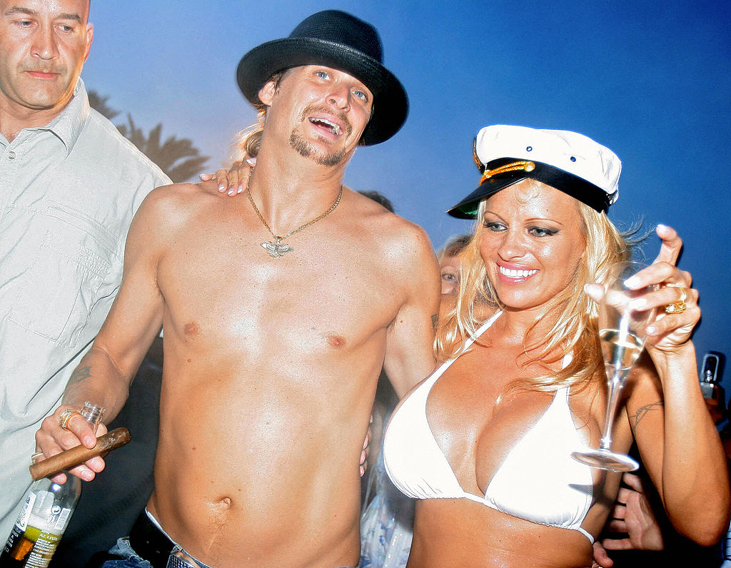 4. Pamela Anderson and Kid Rock