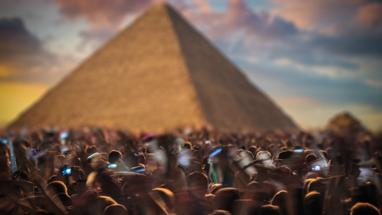 Chili Peppers' Pyramids of Giza Show (And Other Ridiculous Places for Bands to Play)