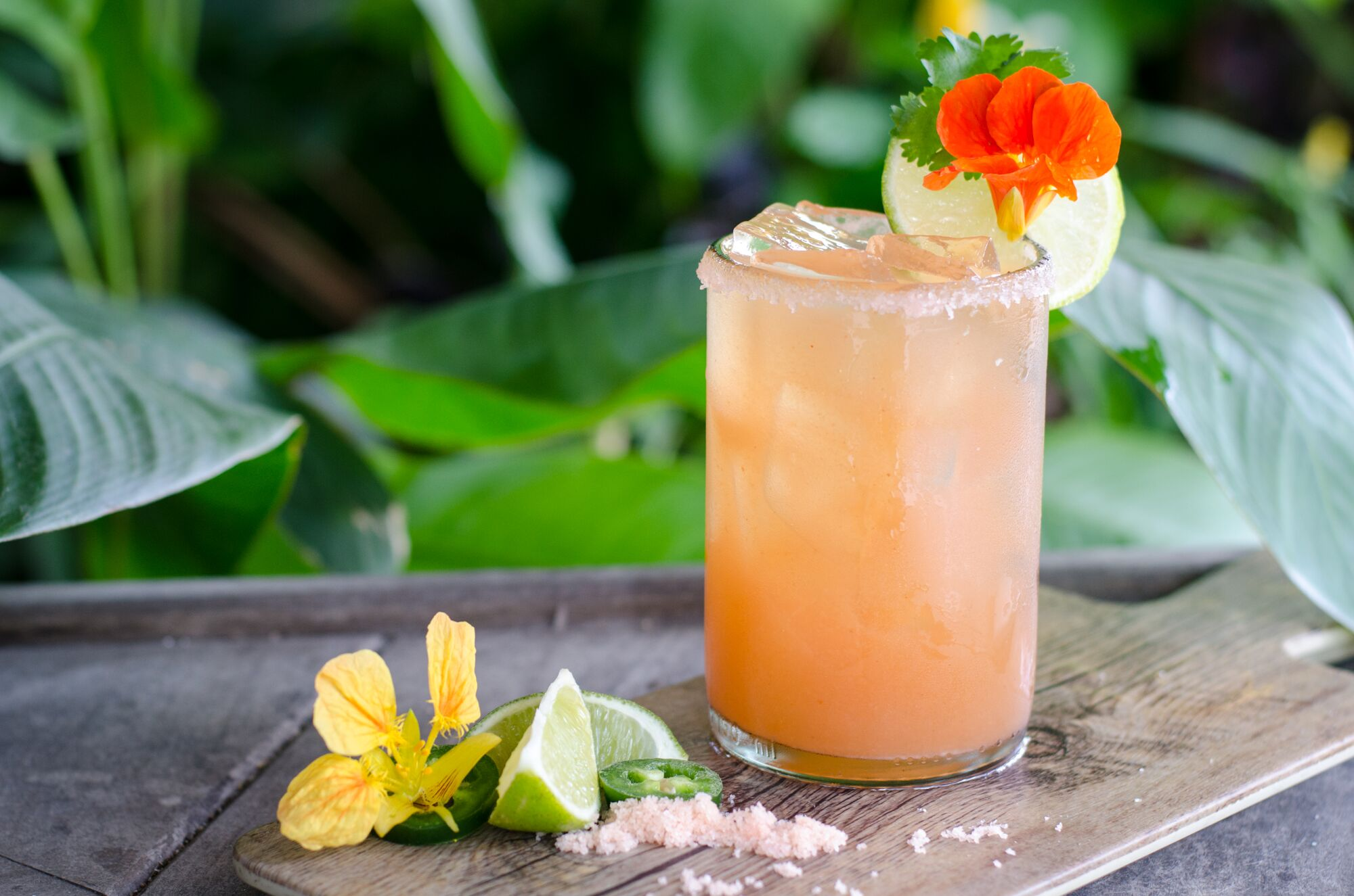 Sweet and Spicy Mango Margarita