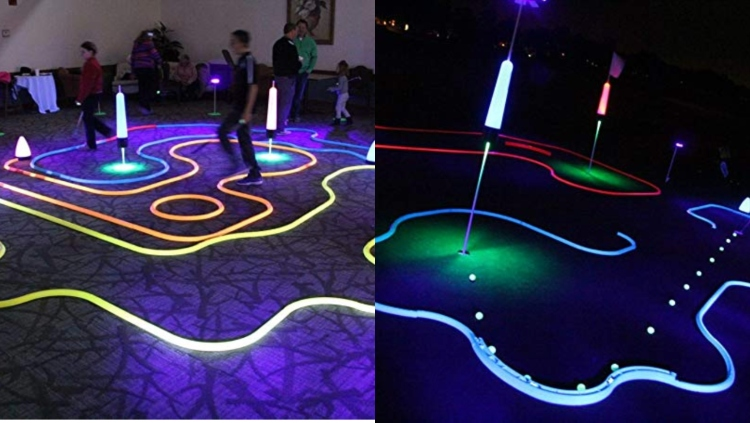 Glow Gear Cosmic Putting Mini Golf Game