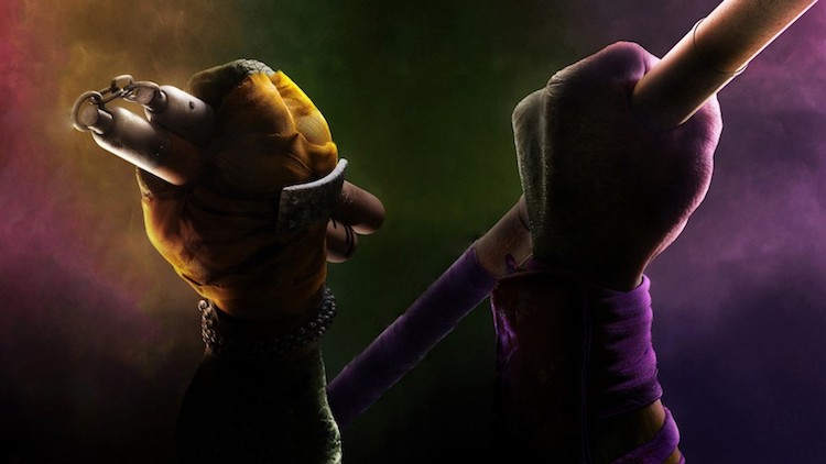 11. Bo Staff / Nunchuks (Teenage Mutant Ninja Turtles)