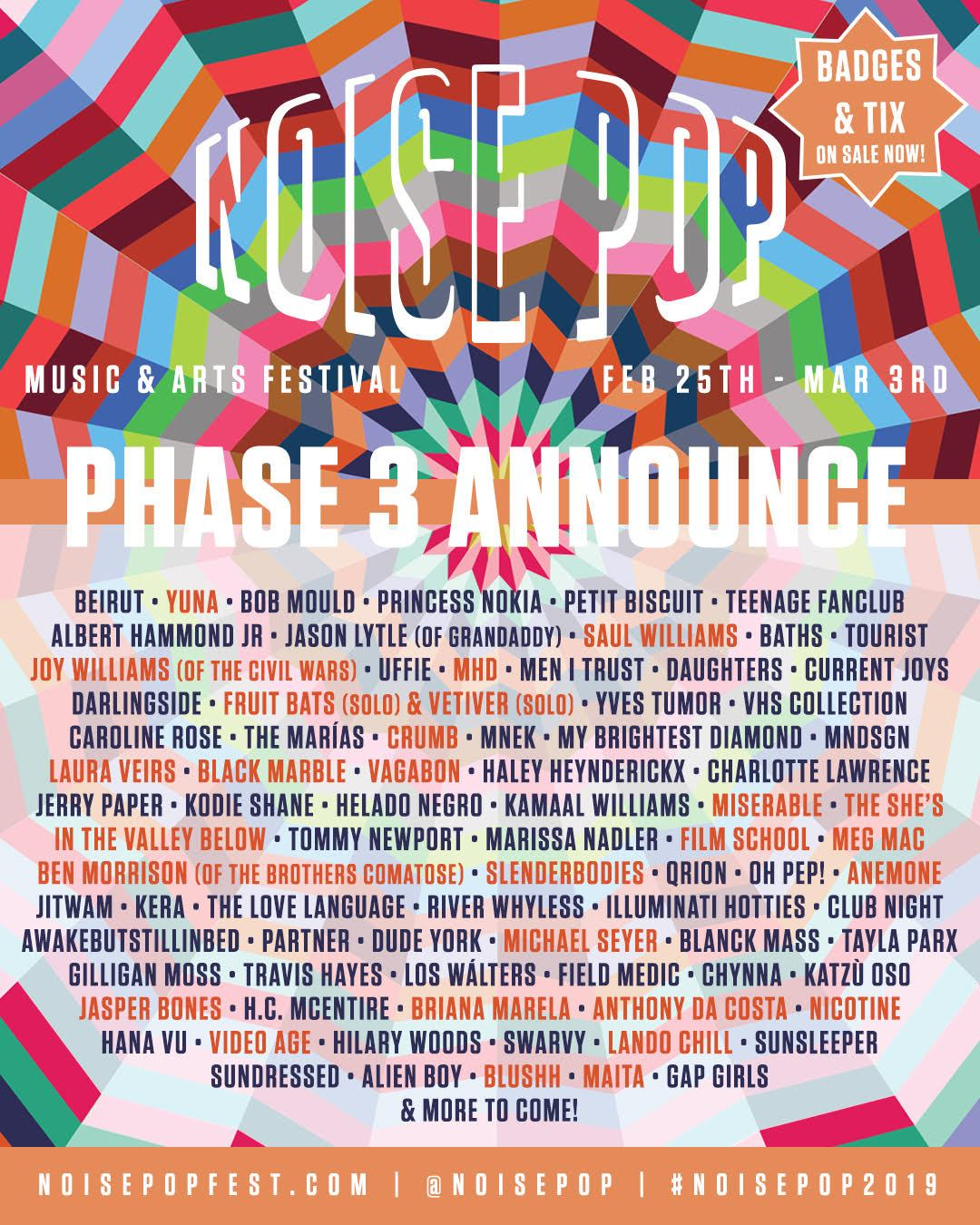 Noise Pop Music and Art Festival