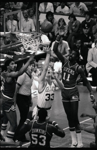Celtics vs. Sixers (1980s)