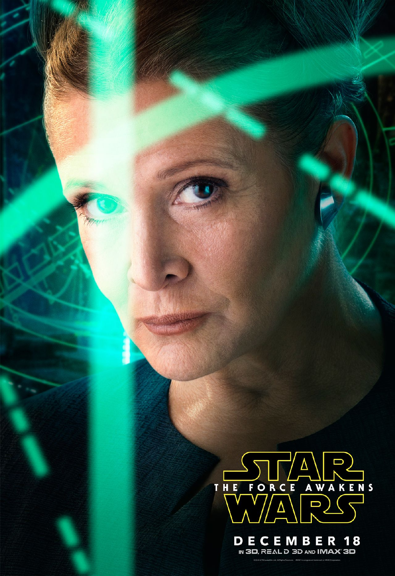 Star Wars: The Force Awakens - Leia Character Poster