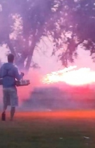 Every Fourth of July, you start a Roman candle war with the neighborhood kids.