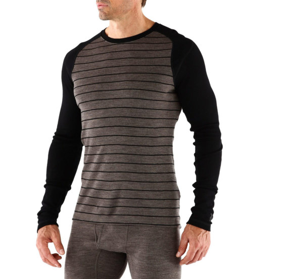 SmartWool NTS 250 Pattern Long Underwear Crew Top