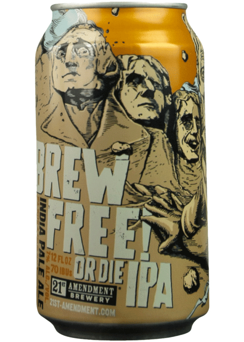 6. 21st Amendment Brew Free! Or Die
