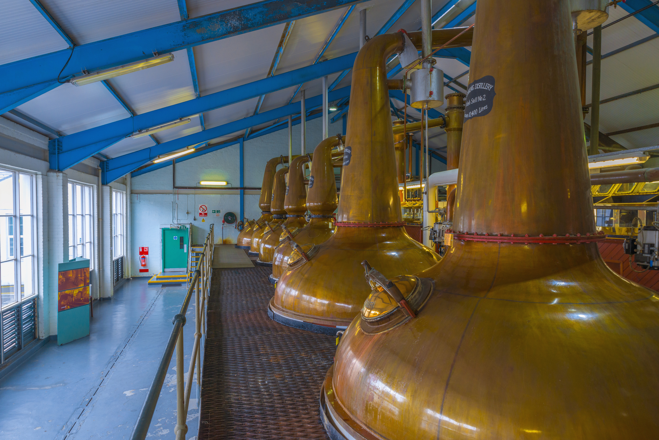 Why is peated whisky made on Islay?