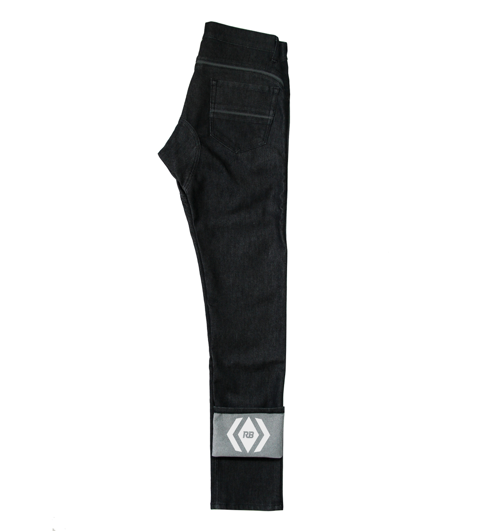 Resolute Bay, NX1 - Black Cordura Jeans