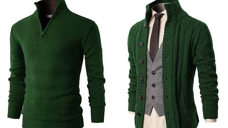 Do: Chic Kelly Green Sweaters