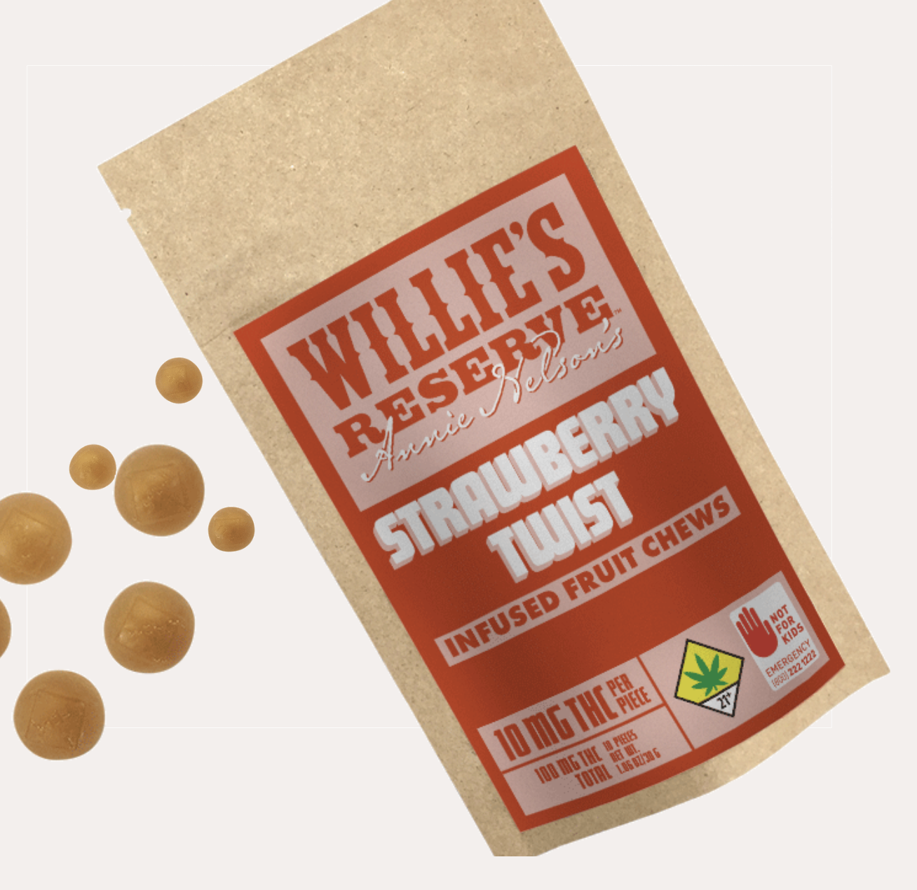 Willie's Reserve: Annie's Infused Fruit Chews