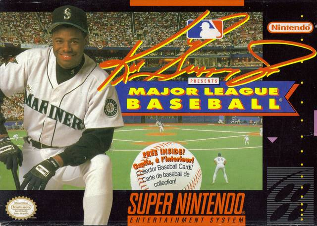 "3. ""Ken Griffey Jr. Baseball"" (1994)"