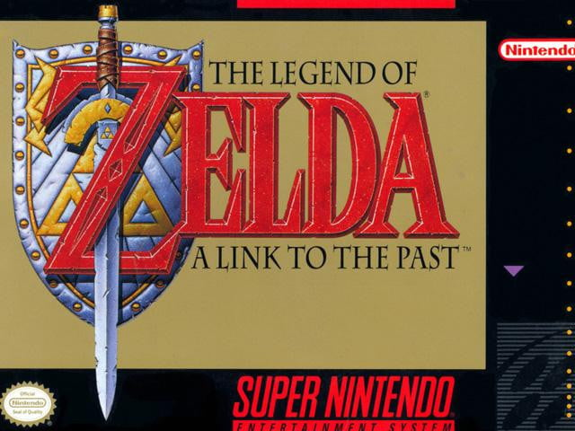 "4. ""The Legend of Zelda: A Link to the Past"" (1991)"