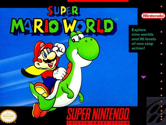"6. ""Super Mario World"" (1990)"