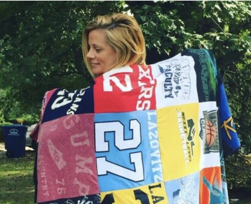 Project Repeat's T-Shirt Quilt