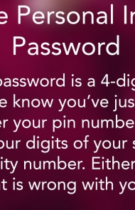2. The Personal Info Password