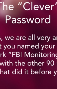 3. The 'Clever' Password