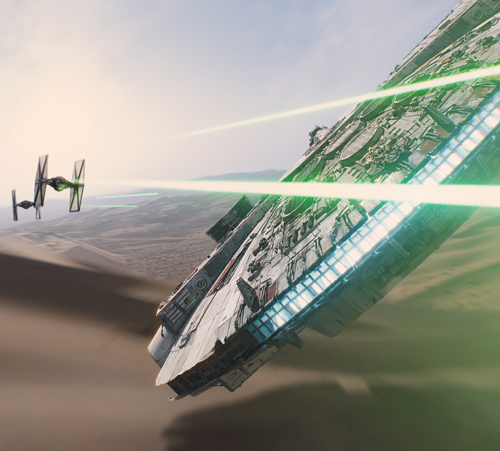 2. Star Wars: The Force Awakens (Dec. 18)