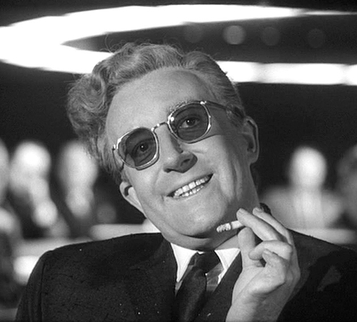 1. Dr. Strangelove, or: How I Learned to Stop Worrying and Love the Bomb (1964)
