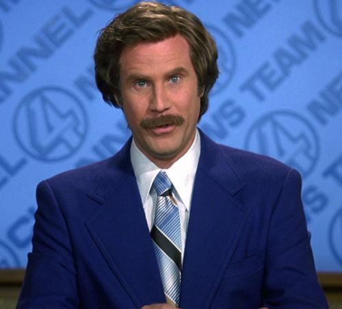 13. Anchorman: The Legend of Ron Burgundy (2004)