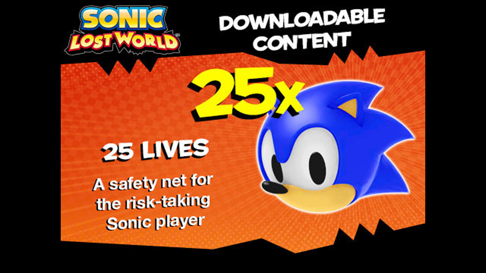 Worst: Sonic Lost World Pre-Order Lives