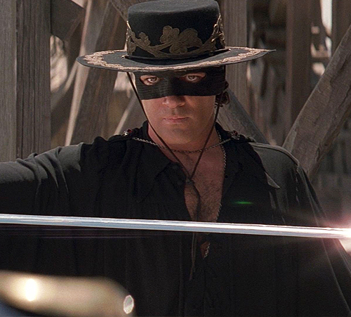 7. The Mask of Zorro
