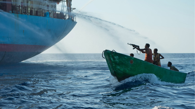 3. The Siege, from Captain Phillips