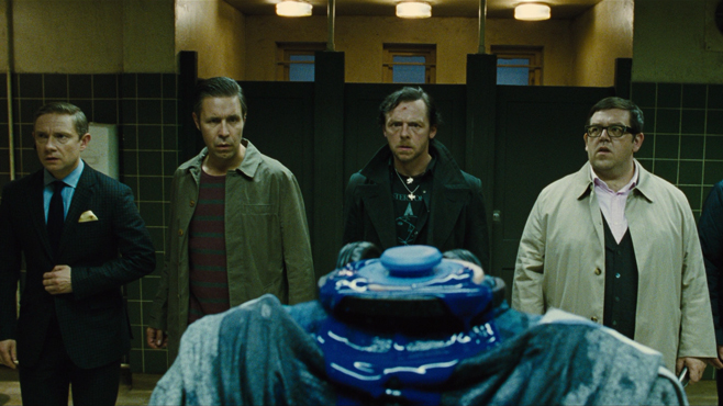 6. The Bathroom Fight, from The World's End